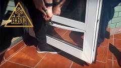 Тонировка пластиковых окон со снятием штапиков