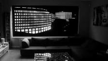 Рулонные шторы Maxi с перфорацией - ночной город в Саратове