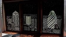 Кассетные рулонные шторы Uni с перфорацией в Саратове