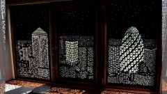 Кассетные рулонные шторы Uni с перфорацией