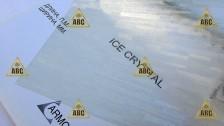ARM (HE 034) Glass Rain ICE Cristal (Стеклянный дождь) - Нанесение пленки в Саратове