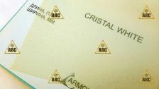 ARM (PVC) Crystal White (Белый иней) - Нанесение пленки в Саратове