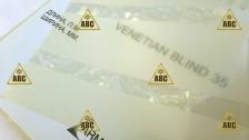 ARM 01599 Venetian Blind F35M10 (Полоски) - Нанесение пленки в Саратове