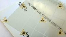 Sun Decorative Cubes - Нанесение пленки в Саратове