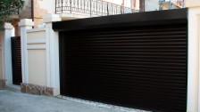 Роллетные ворота с электроприводами SOMFY (Франция) в Саратове